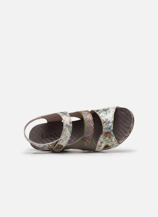 Sandales et nu-pieds Laura Vita Facdiao 12 Gris vue gauche