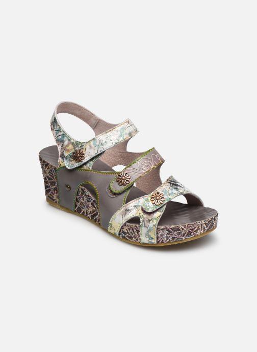 Sandales et nu-pieds Laura Vita Facdiao 12 Gris vue détail/paire