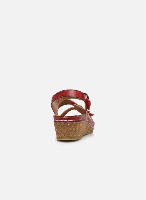 Sandales et nu-pieds Laura Vita Facscineo 13 Rouge vue droite