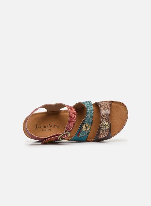 Sandales et nu-pieds Laura Vita Facscineo 13 Rouge vue gauche