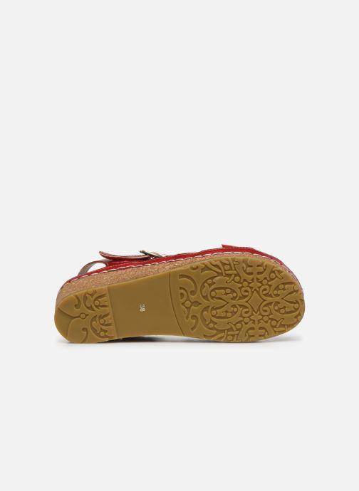 Sandali e scarpe aperte Laura Vita Facscineo 13 Rosso immagine dall'alto