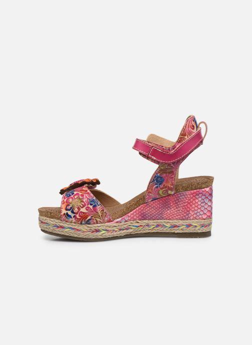 Sandales et nu-pieds Laura Vita Facyo 06 Rose vue face