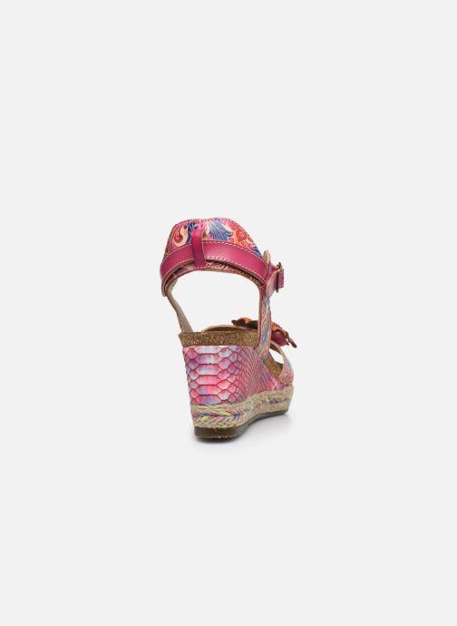 Sandales et nu-pieds Laura Vita Facyo 06 Rose vue droite