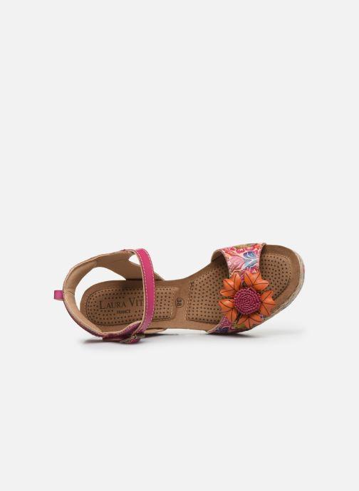 Sandales et nu-pieds Laura Vita Facyo 06 Rose vue gauche