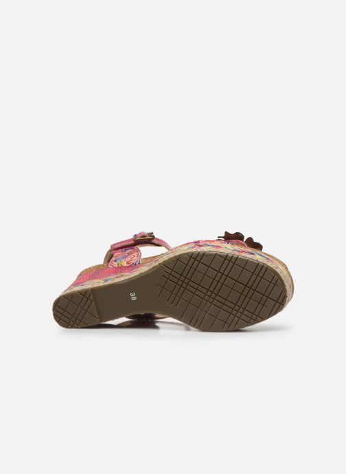Sandales et nu-pieds Laura Vita Facyo 06 Rose vue haut