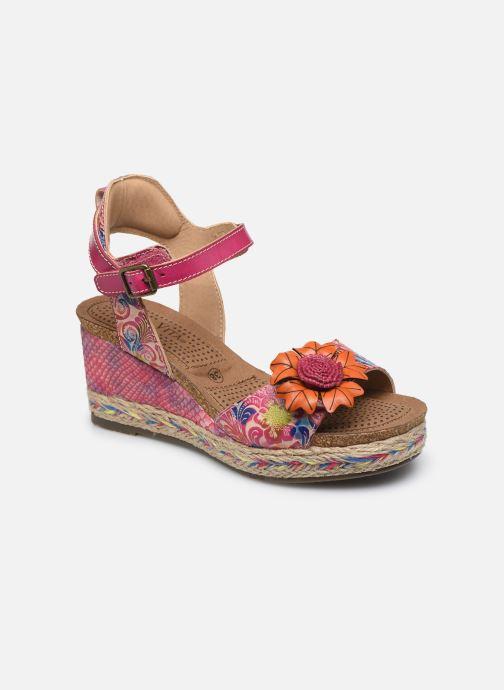 Sandales et nu-pieds Laura Vita Facyo 06 Rose vue détail/paire
