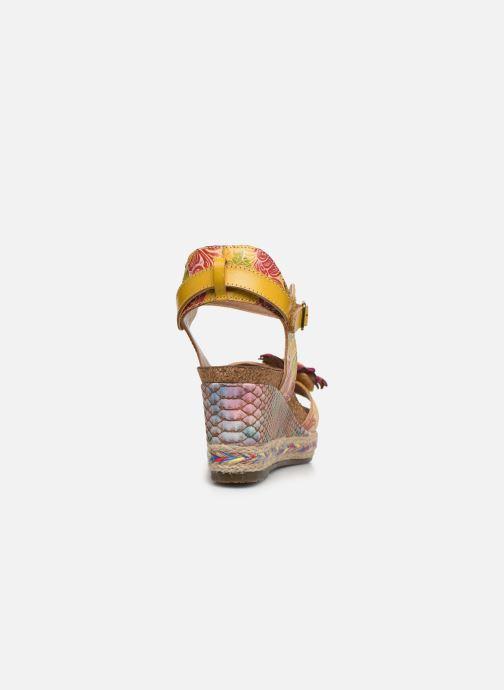 Sandali e scarpe aperte Laura Vita Facyo 06 Giallo immagine destra