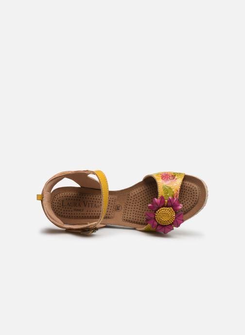 Sandali e scarpe aperte Laura Vita Facyo 06 Giallo immagine sinistra