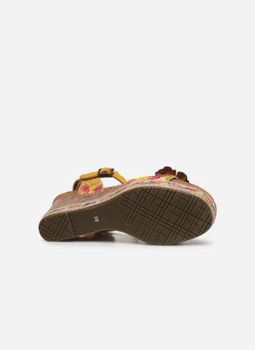 Sandali e scarpe aperte Laura Vita Facyo 06 Giallo immagine dall'alto