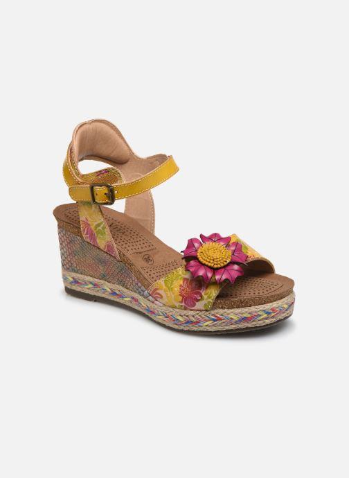 Sandales et nu-pieds Laura Vita Facyo 06 Jaune vue détail/paire