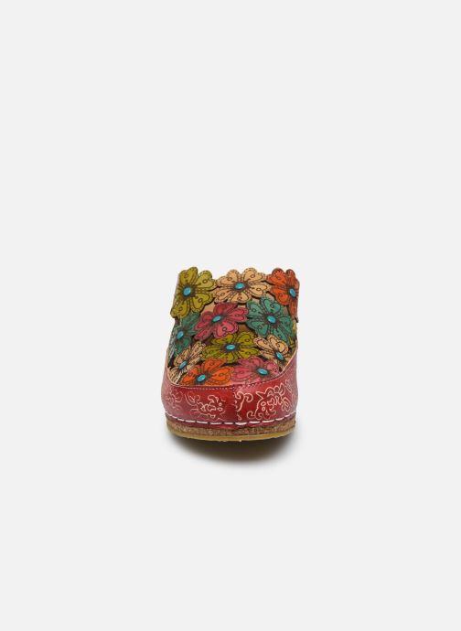 Mules et sabots Laura Vita Facscineo 11 Multicolore vue portées chaussures