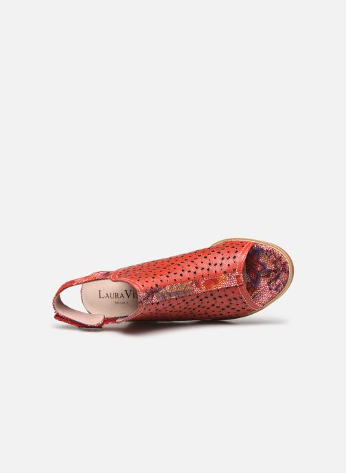 Sandali e scarpe aperte Laura Vita Gucstoo 22 Rosso immagine sinistra