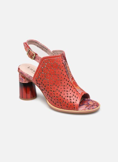 Sandales et nu-pieds Laura Vita Gucstoo 22 Rouge vue détail/paire