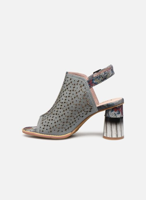 Sandales et nu-pieds Laura Vita Gucstoo 22 Gris vue face