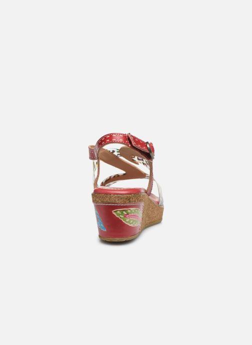Sandales et nu-pieds Laura Vita Hackeo 06 Rouge vue droite