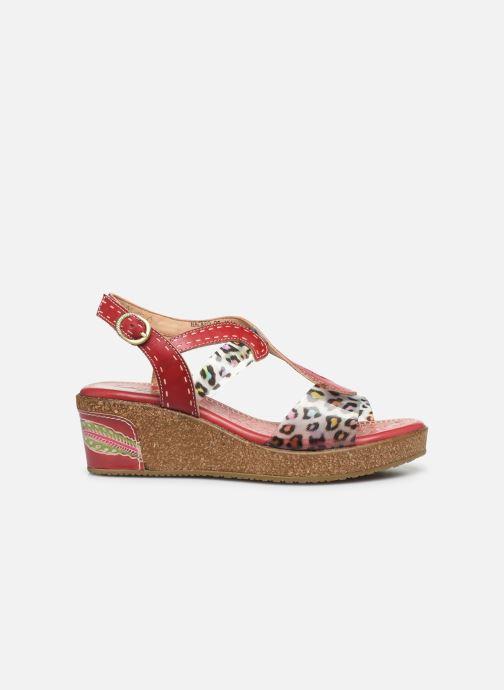 Sandales et nu-pieds Laura Vita Hackeo 06 Rouge vue derrière