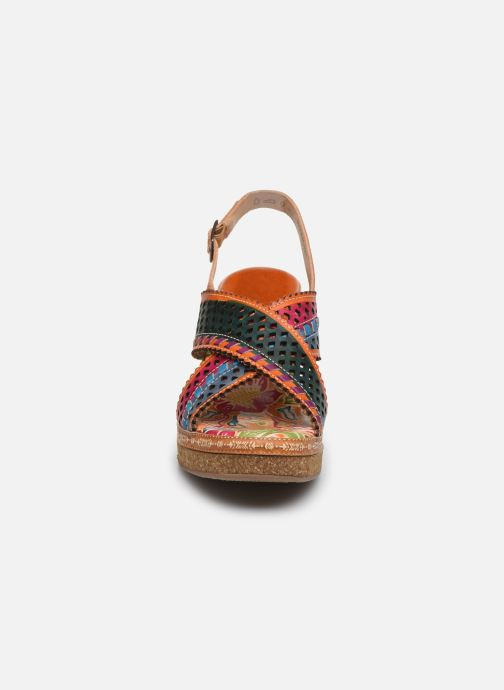Sandales et nu-pieds Laura Vita Hecalo 02 Multicolore vue portées chaussures