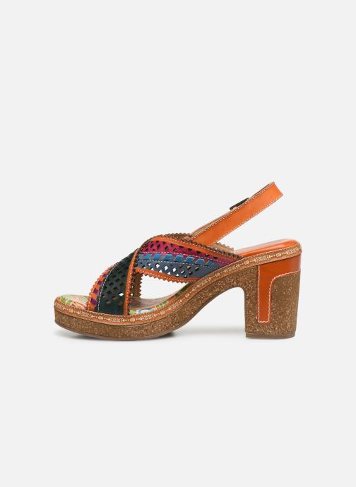 Sandales et nu-pieds Laura Vita Hecalo 02 Multicolore vue face