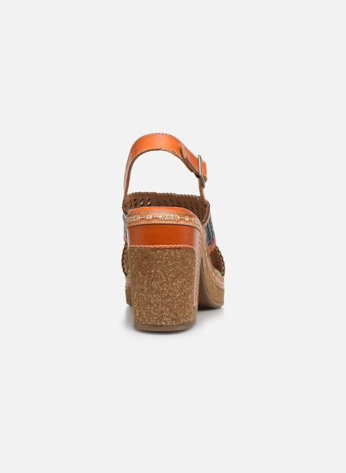 Sandales et nu-pieds Laura Vita Hecalo 02 Multicolore vue droite