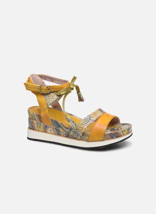 Sandales et nu-pieds Laura Vita Hecio 11 Jaune vue détail/paire