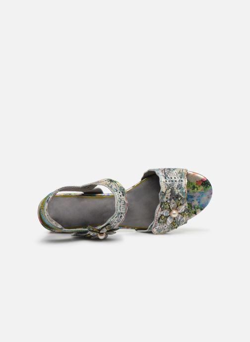 Sandali e scarpe aperte Laura Vita Hucbio 05 Argento immagine sinistra