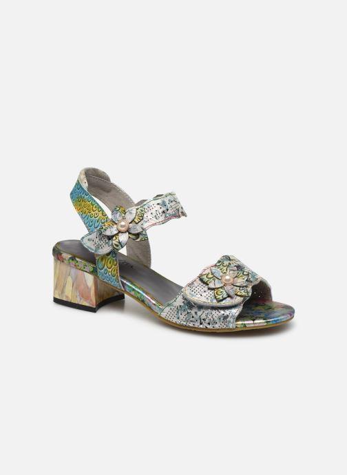 Sandales et nu-pieds Laura Vita Hucbio 05 Argent vue détail/paire