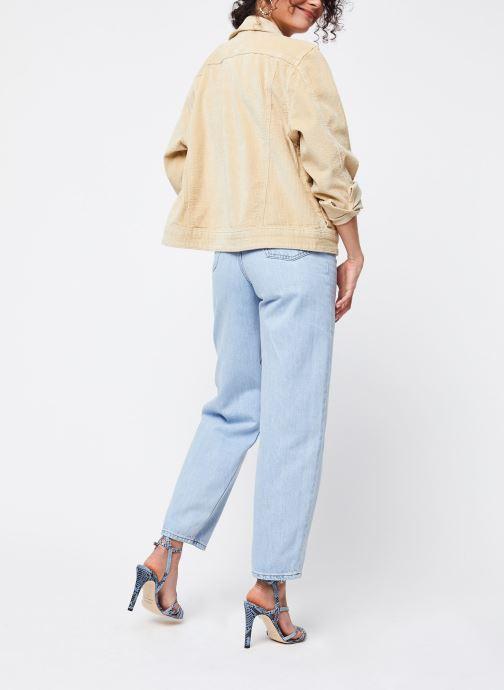 Vêtements Levi's Jean large Balloon Leg Bleu vue bas / vue portée sac