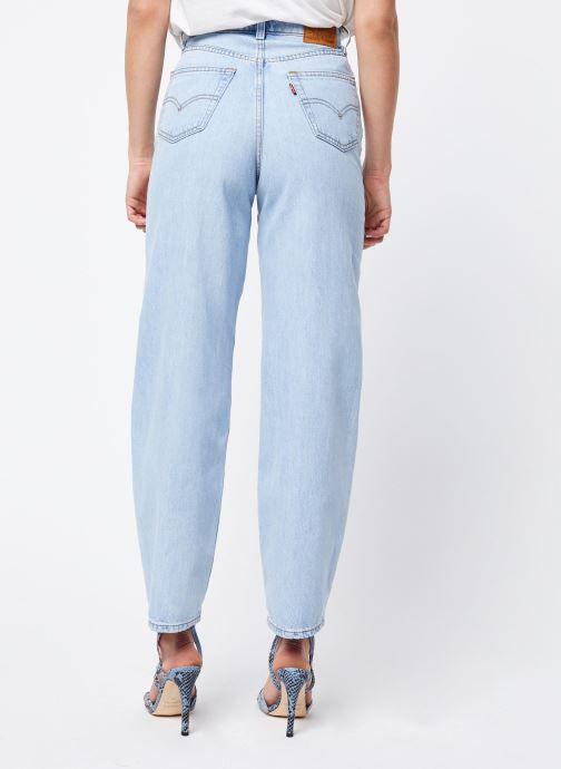 Vêtements Levi's Jean large Balloon Leg Bleu vue portées chaussures