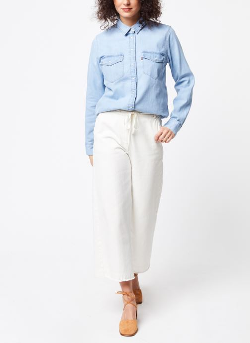 Vêtements Levi's Chemise Essential Western Bleu vue bas / vue portée sac