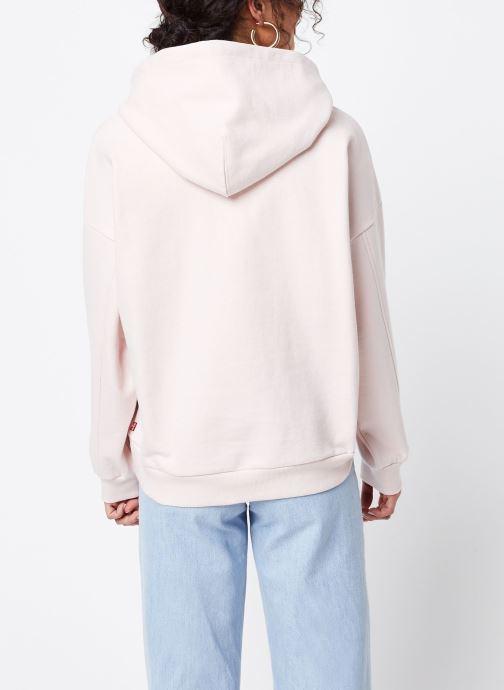 Vêtements Levi's Sweatshirt hoodie Graphic 2020 Hoodie Rose vue portées chaussures