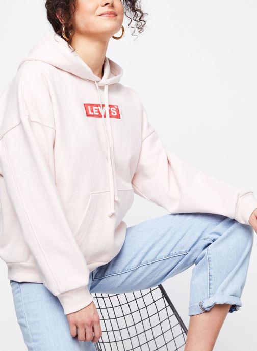 Vêtements Levi's Sweatshirt hoodie Graphic 2020 Hoodie Rose vue détail/paire