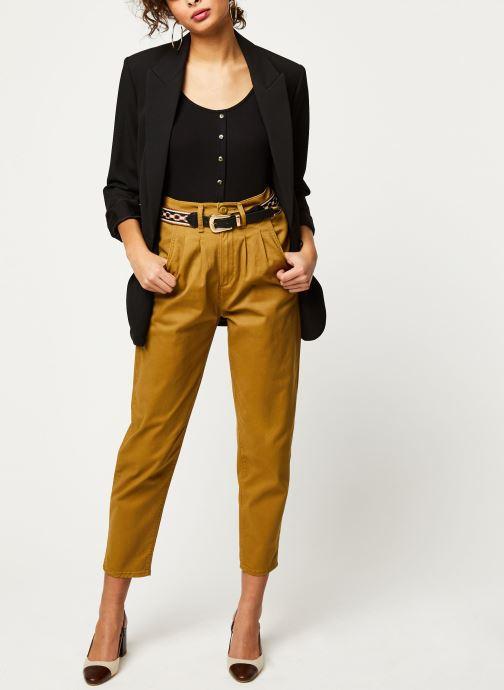 Vêtements Levi's Jean large Pleated Balloon Or et bronze vue bas / vue portée sac