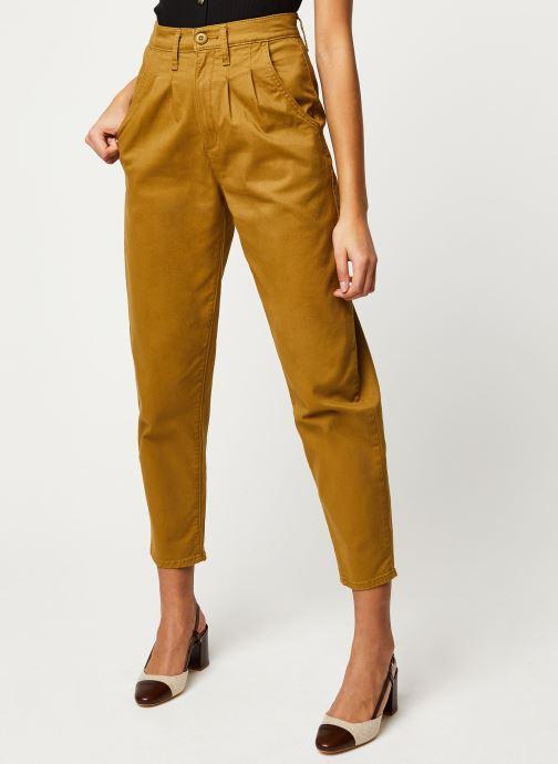Vêtements Levi's Jean large Pleated Balloon Or et bronze vue détail/paire