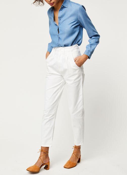 Vêtements Levi's Jean large Pleated Balloon Blanc vue bas / vue portée sac