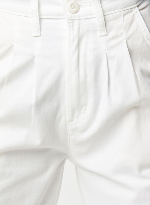 Vêtements Levi's Jean large Pleated Balloon Blanc vue face