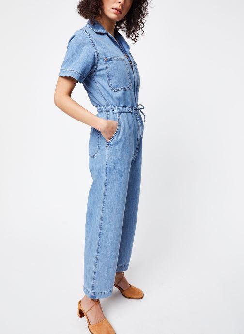 Vêtements Levi's Combinaison Wide Leg Jumpsuit Bleu vue bas / vue portée sac