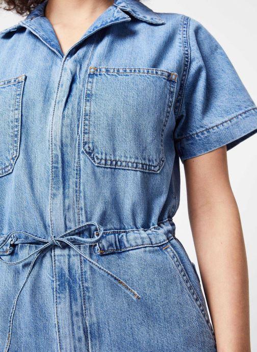 Vêtements Levi's Combinaison Wide Leg Jumpsuit Bleu vue face