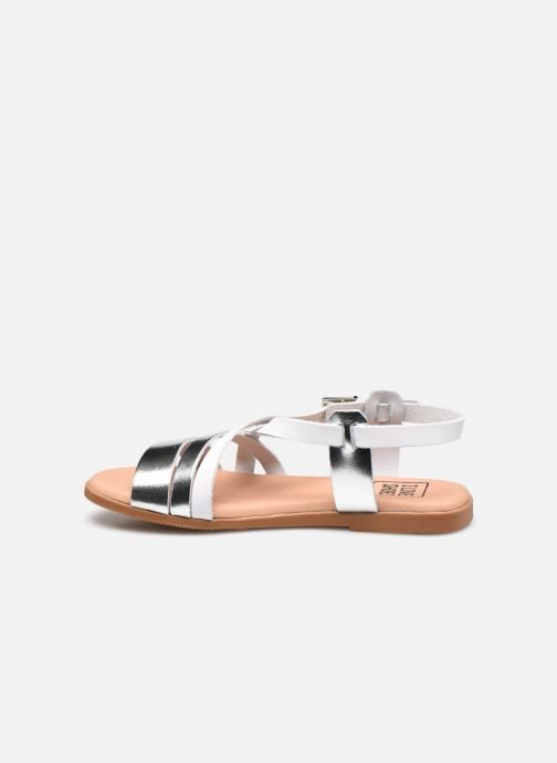 Sandales et nu-pieds I Love Shoes INHELLO LEATHER Argent vue face