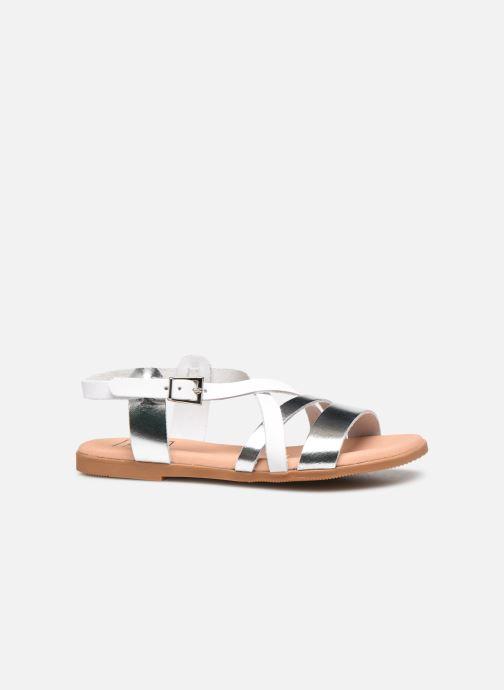 Sandalen I Love Shoes INHELLO silber ansicht von hinten