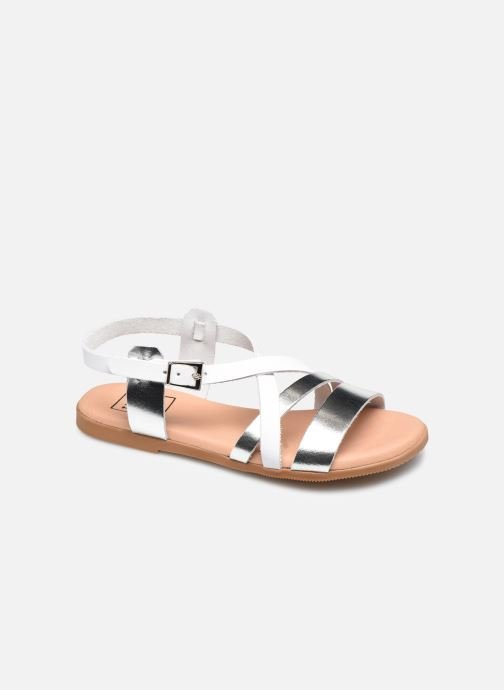 Sandales et nu-pieds I Love Shoes INHELLO LEATHER Argent vue détail/paire