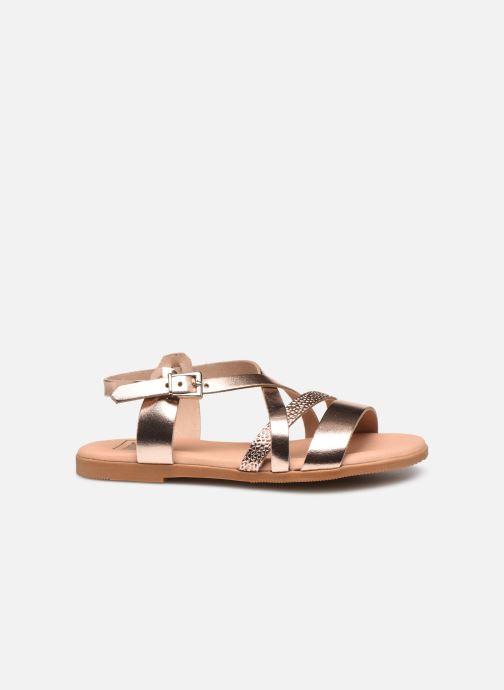 Sandales et nu-pieds I Love Shoes INHELLO LEATHER Or et bronze vue derrière