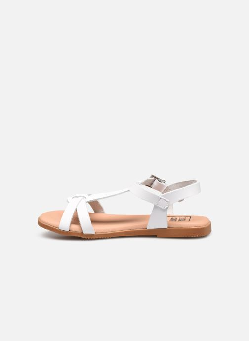 Sandals I Love Shoes INESSE White front view