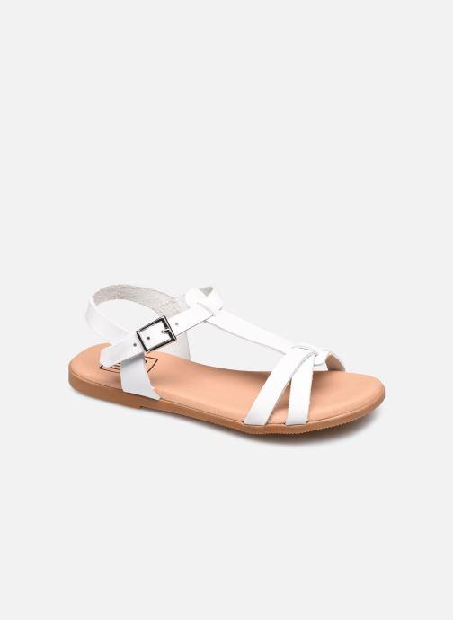 Sandalias I Love Shoes INESSE LEATHER Blanco vista de detalle / par