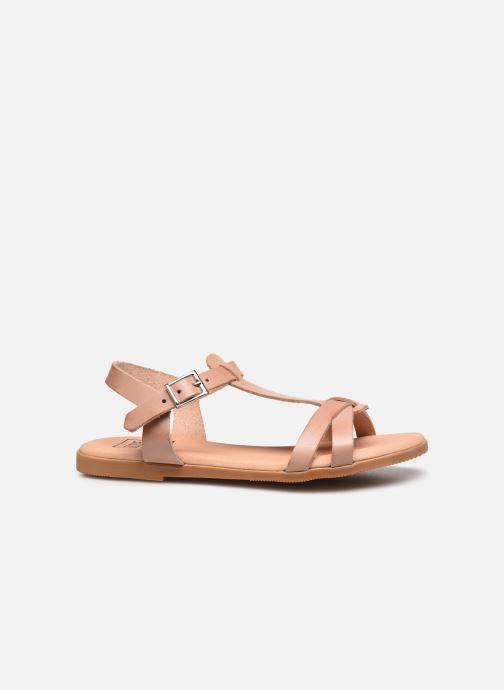 Sandales et nu-pieds I Love Shoes INESSE LEATHER Marron vue derrière
