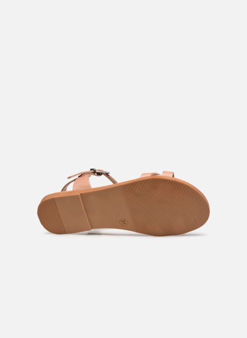 Sandales et nu-pieds I Love Shoes INESSE LEATHER Marron vue haut