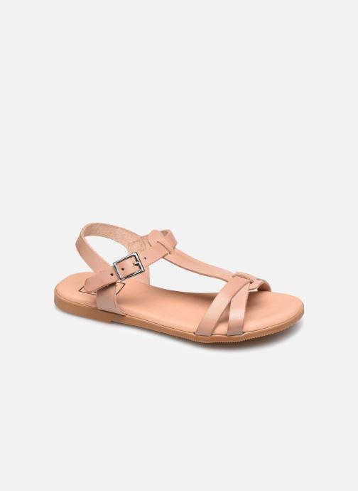 Sandales et nu-pieds I Love Shoes INESSE LEATHER Marron vue détail/paire