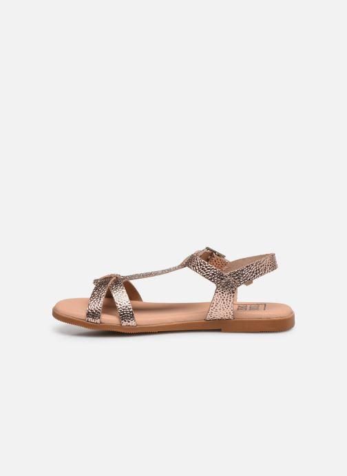 Sandalias I Love Shoes INESSE LEATHER Oro y bronce vista de frente