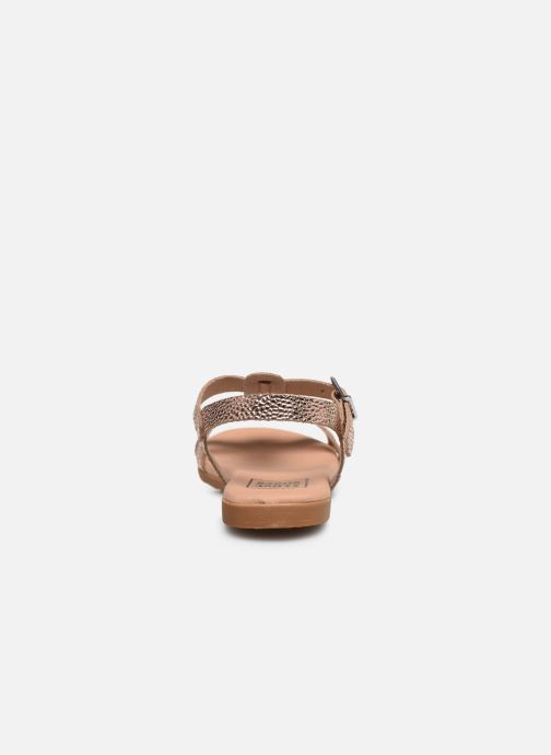 Sandalias I Love Shoes INESSE LEATHER Oro y bronce vista lateral derecha