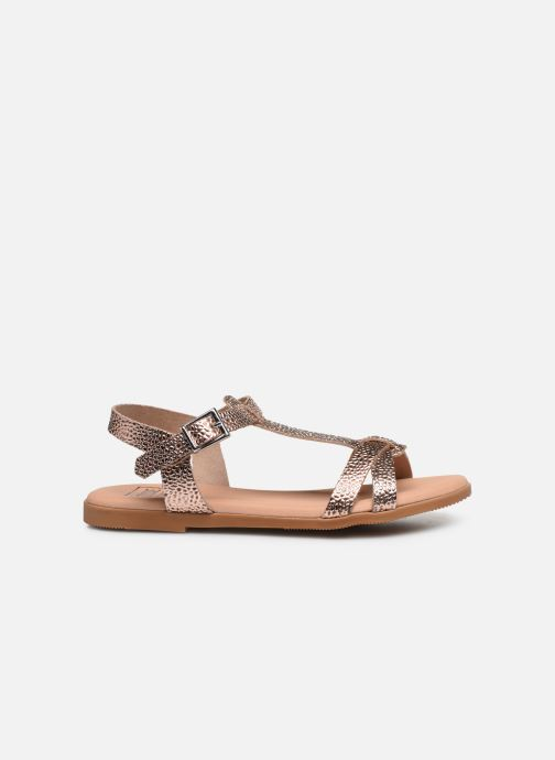 Sandalias I Love Shoes INESSE LEATHER Oro y bronce vistra trasera