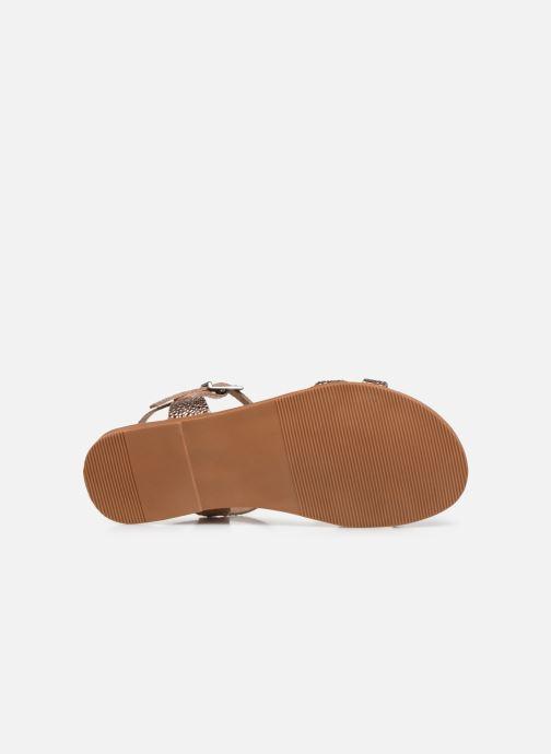 Sandalias I Love Shoes INESSE LEATHER Oro y bronce vista de arriba